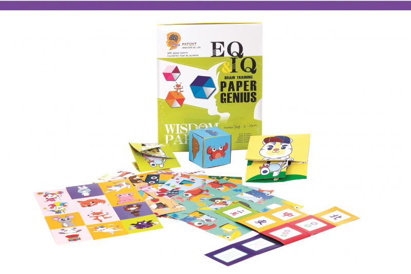 EQ .IQ Brain Training -Paper Genius